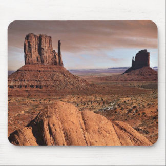 The famous mesas of Monument Valley Utah Mouse Pad