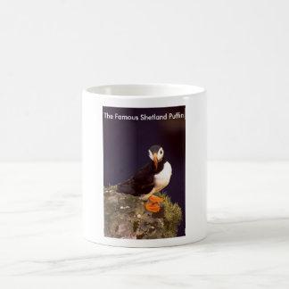 The Famous Shetland Puffin Basic White Mug