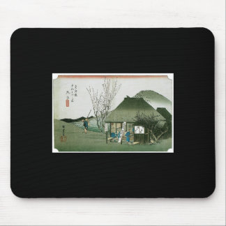 The Famous Teahouse at Mariko, Japan Mouse Pad