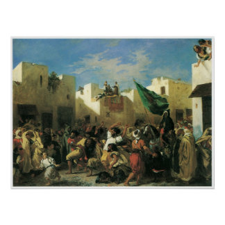 The Fanatics of Tangier 1838 Poster