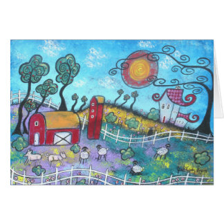 The Fanciful Farm Note Card