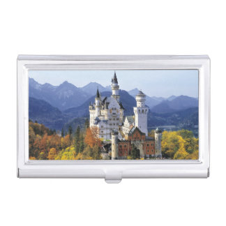 The fanciful Neuschwanstein is one of three Business Card Holder