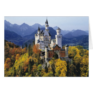 The fanciful Neuschwanstein is one of three Card