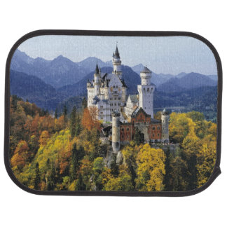 The fanciful Neuschwanstein is one of three Floor Mat