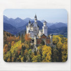 The fanciful Neuschwanstein is one of three Mouse Mat