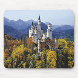 The fanciful Neuschwanstein is one of three Mouse Pad