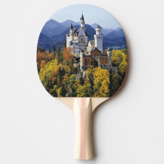 The fanciful Neuschwanstein is one of three Ping Pong Paddle