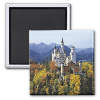 The fanciful Neuschwanstein is one of three Square Magnet
