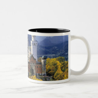 The fanciful Neuschwanstein is one of three Two-Tone Coffee Mug