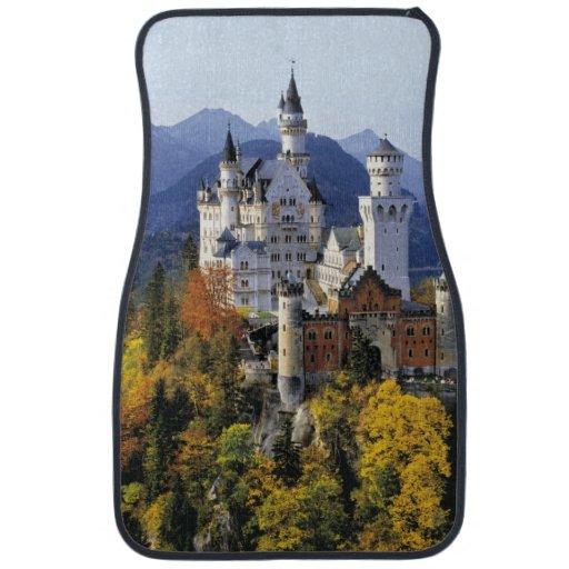 The fanciful Neuschwanstein is one of three Floor Mat