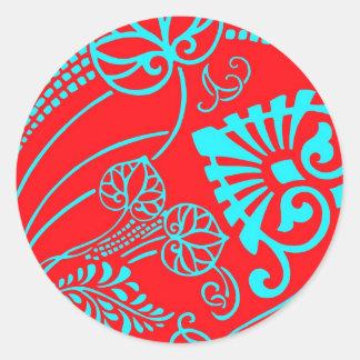 The Fans Round Sticker