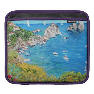 The Faraglioni Rocks -  iPad pad Horizontal iPad Sleeve