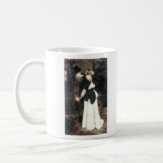 The farewell by James Tissot Mug