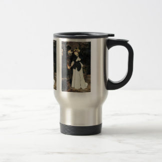 The farewell by James Tissot Coffee Mugs