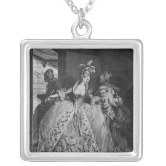 The Farewells Silver Plated Necklace