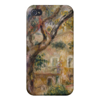 The Farm at Les Collettes, Cagnes - Auguste Renoir iPhone 4 Covers