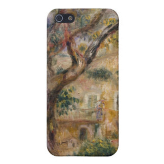 The Farm at Les Collettes, Cagnes - Auguste Renoir Covers For iPhone 5