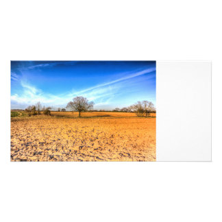The Farm Tree Picture Card
