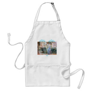 The farmer hanging laundry by Berthe Morisot Aprons