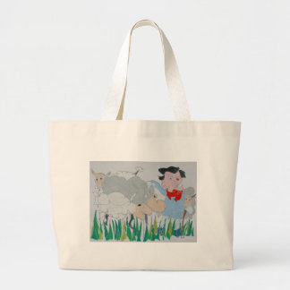 The Farmer Large Tote Bag