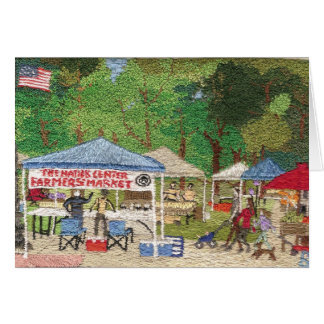 The Farmer's Market on the Natick Common Note Card