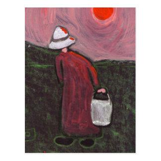 The farmworker postcard