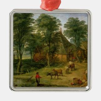 The Farmyard Christmas Ornament