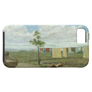 The Farmyard (oil on canvas) iPhone 5 Covers