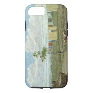 The Farmyard (oil on canvas) iPhone 7 Case