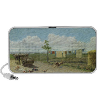 The Farmyard (oil on canvas) Speaker System