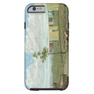 The Farmyard (oil on canvas) Tough iPhone 6 Case