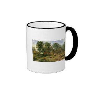 The Farmyard Ringer Mug