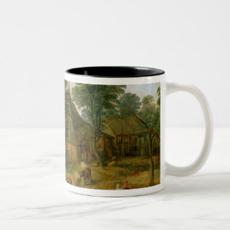 The Farmyard Two-Tone Coffee Mug