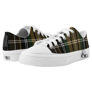 The Farrell Clan of Ireland tartan Printed Shoes