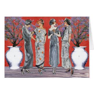 The Fashion Four Card