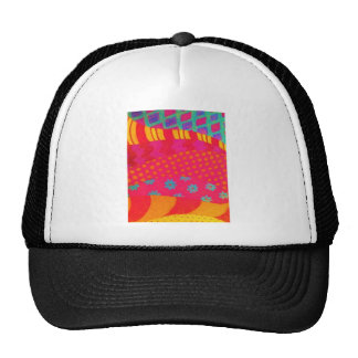 THE FASHIONISTA - Bright Vibrant Abstract Waves Cap