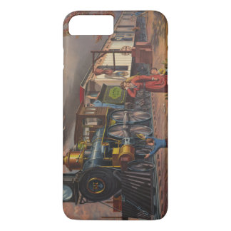 The Fast Mail Postal Service Train From 1875 iPhone 7 Plus Case