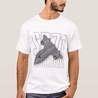 The fastest supersonic spy plane: SR-71 Blackbird T-Shirt