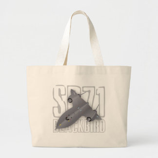 The fastest supersonic spy plane: SR-71 Blackbird Canvas Bags