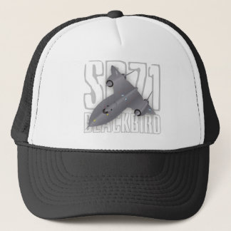 The fastest supersonic spy plane: SR-71 Blackbird Trucker Hat