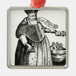 The Fat Bishop Christmas Ornament