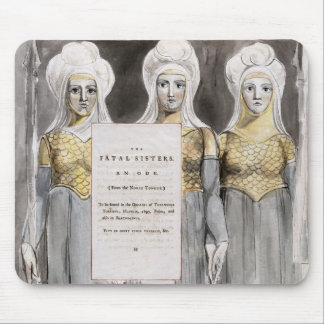 The Fatal Sisters, design 67 from 'The Poems of Th Mouse Mat