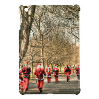 The Father Christmas 10km run in Greenwich, London Case For The iPad Mini