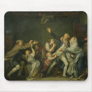 The Father's Curse or The Ungrateful Son, 1777 Mouse Mat