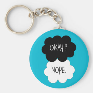 The Fault In Our Stars Okay Parody Key Ring