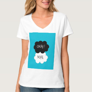The Fault In Our Stars Okay Parody T-Shirt