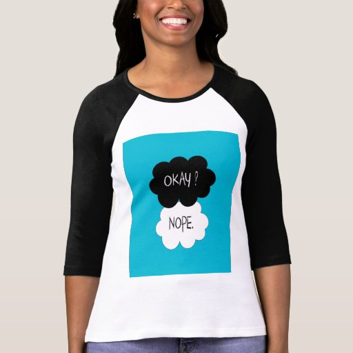 The Fault In Our Stars Okay Parody Tshirt