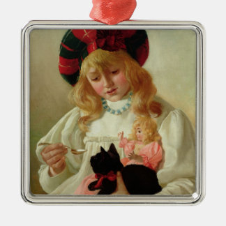 The Favourites, 1895 (oil on canvas) Christmas Ornament