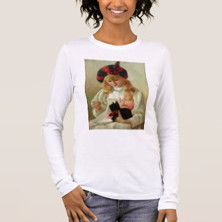 The Favourites, 1895 (oil on canvas) Long Sleeve T-Shirt