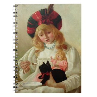 The Favourites, 1895 (oil on canvas) Notebook